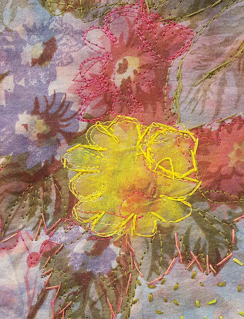 18. Cas Holmes Great Aunt Margaret's Hopes 2019 (detail)
