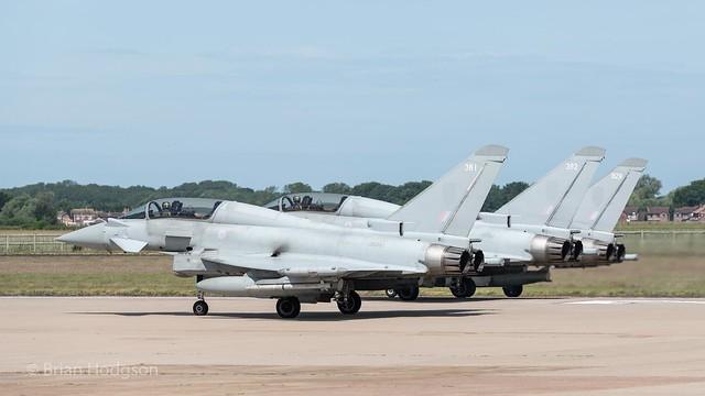 ZK381  '381'  Typhoon T3  RAF  29 Sq  Unmarked