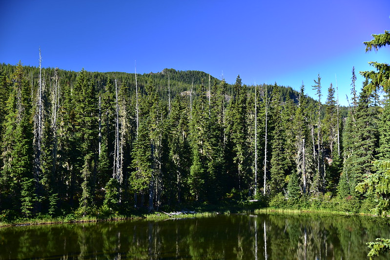 Horse Mountain above Horse Lake