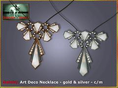 Bliensen - Gatsby - Art Deco necklace