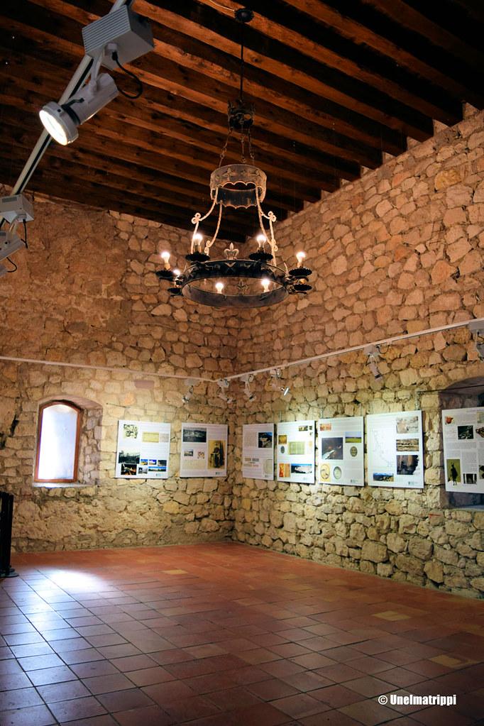 Alcalá del Júcarin linnan sisällä