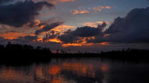 cloudsstormssunsetssunrises cloudscape spectacularsunsetsandsunrises sunset northcarolina northwestcreek fairfieldharbour olympus