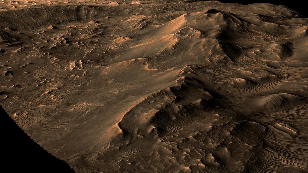 Chandor Chasma in Vales Mariner - Mars