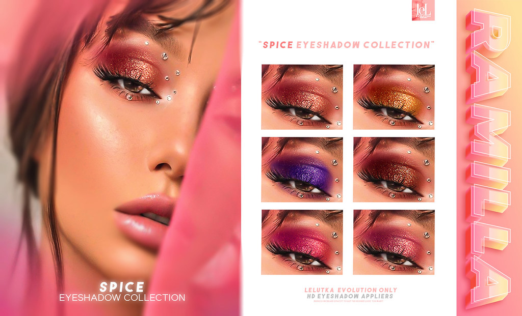 Spice Eyeshadow Collection /GIVEAWAY