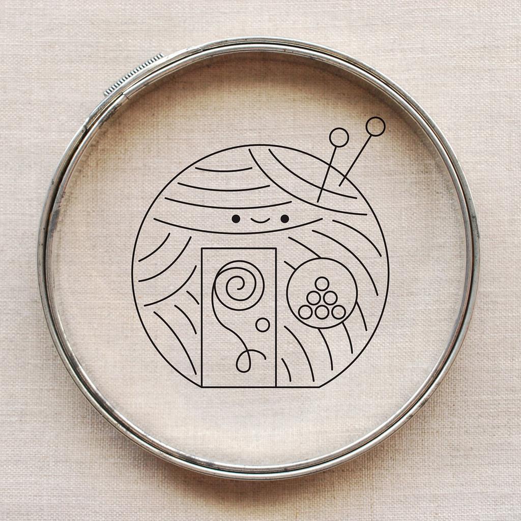 Kawaii Crossing Yarn Shop Embroidery Pattern