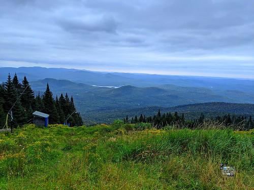 mountain green blue sky nature breathlessview