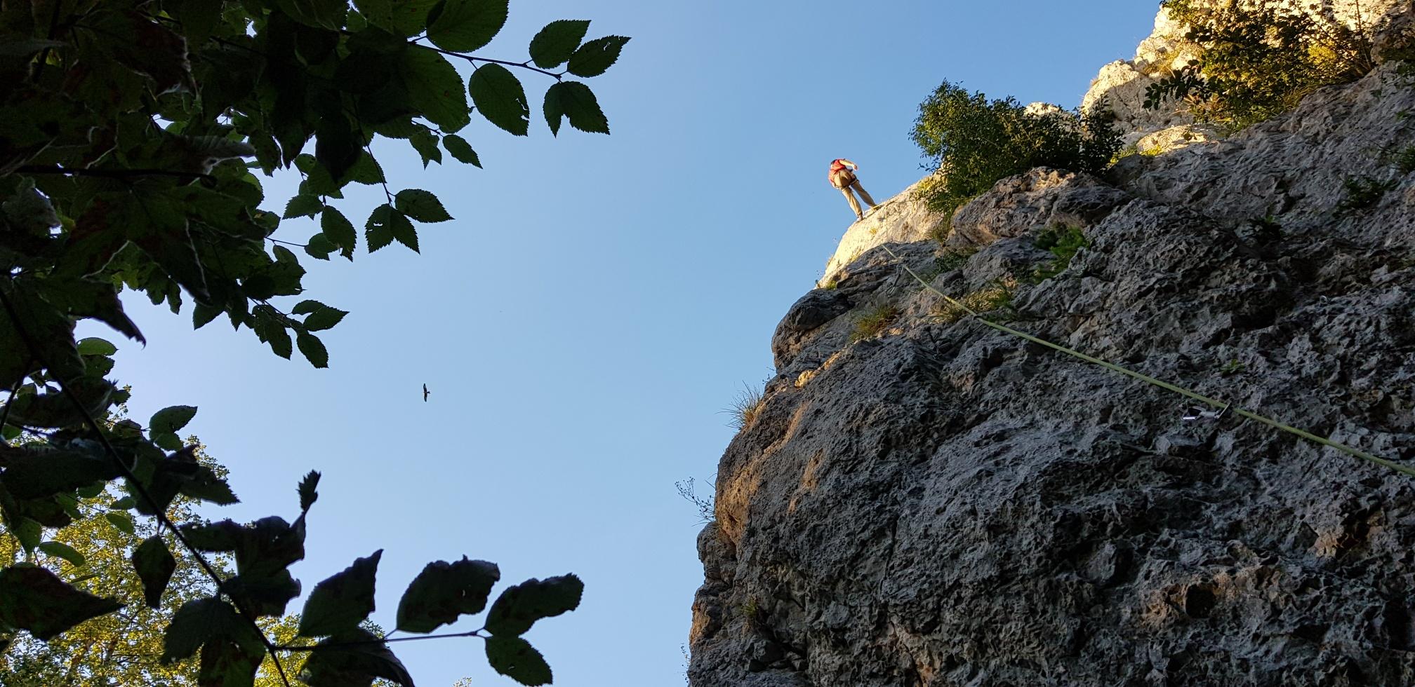 Impressionen Klettern 08.09.2020