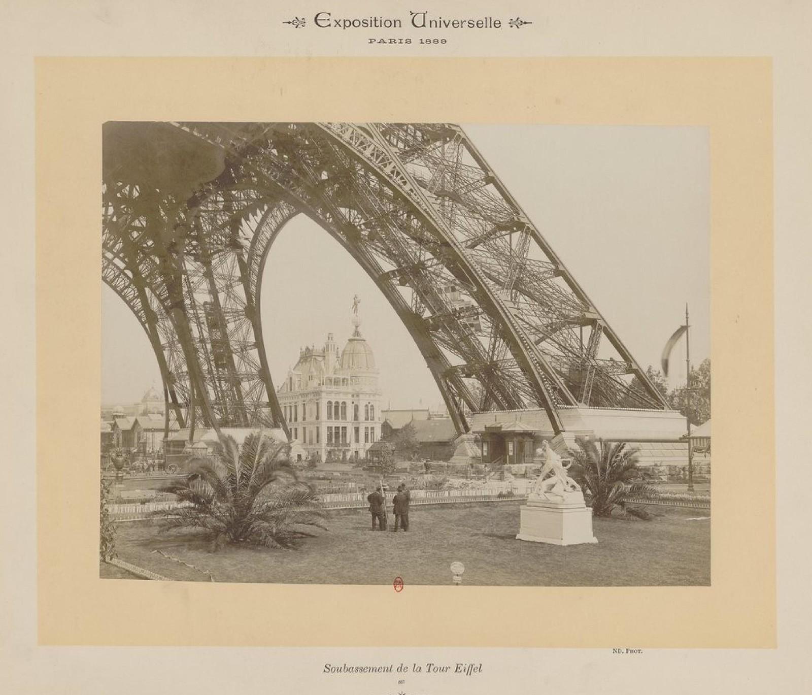 17. 1889. Опора Эйфелевой башни