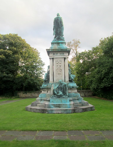 Reverse of Gladstone Statue at Gladstone's Library