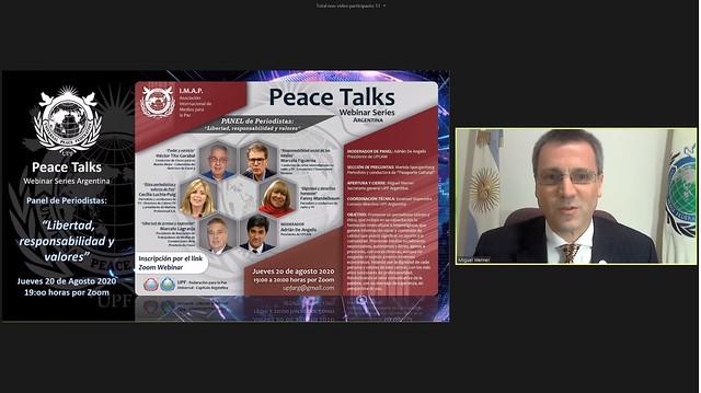 Argentina-2020-08-20-UPF Webinar Introduces International Media Association for Peace in Argentina
