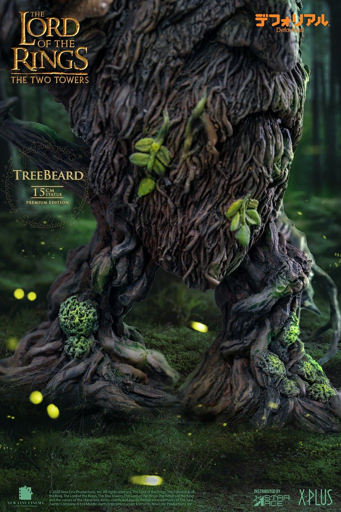 Defo-Real系列《雙城奇謀》樹鬍(Treebeard)迷你雕像