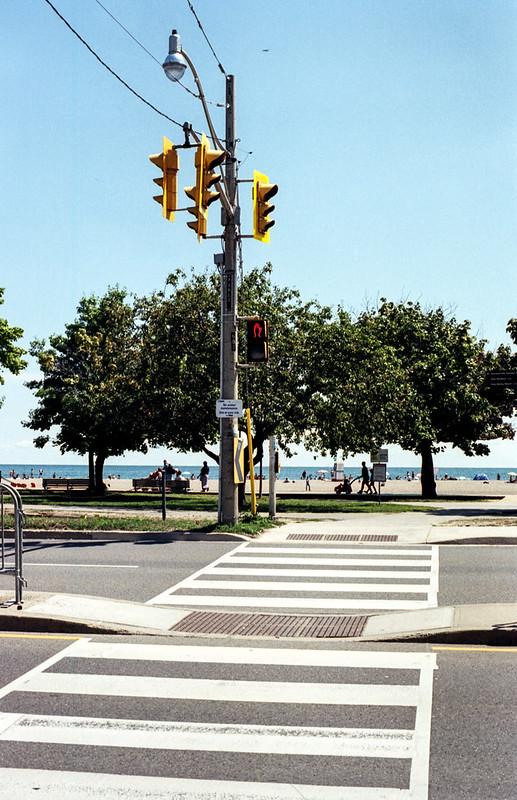 Lakeshore Crosswalk to the Beach