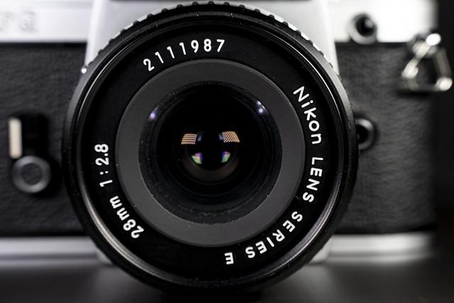 Nikon Series E 28mm f/2.8 Ai-S