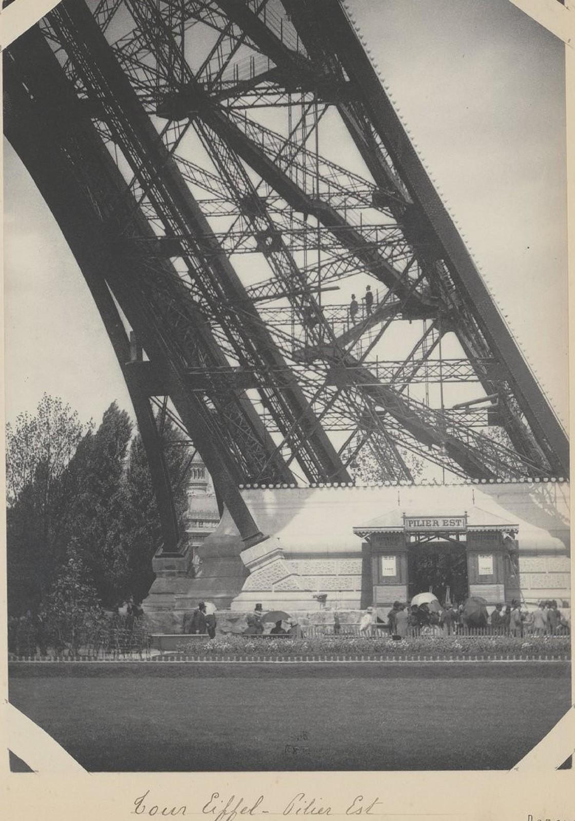 23. 1889. Эйфелева башня. Восточная опора