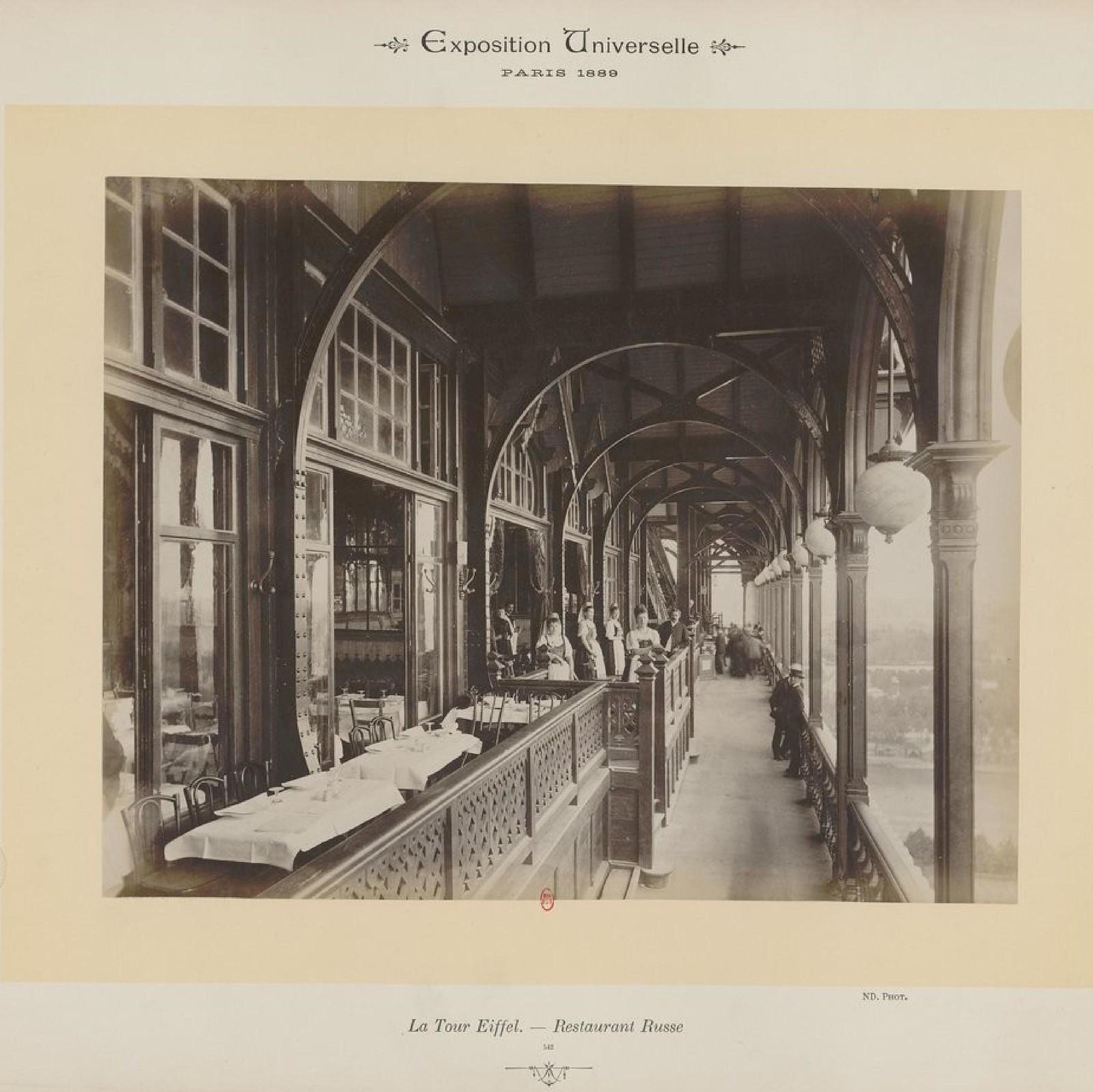 22. 1889. Эйфелева башня. Русский ресторан