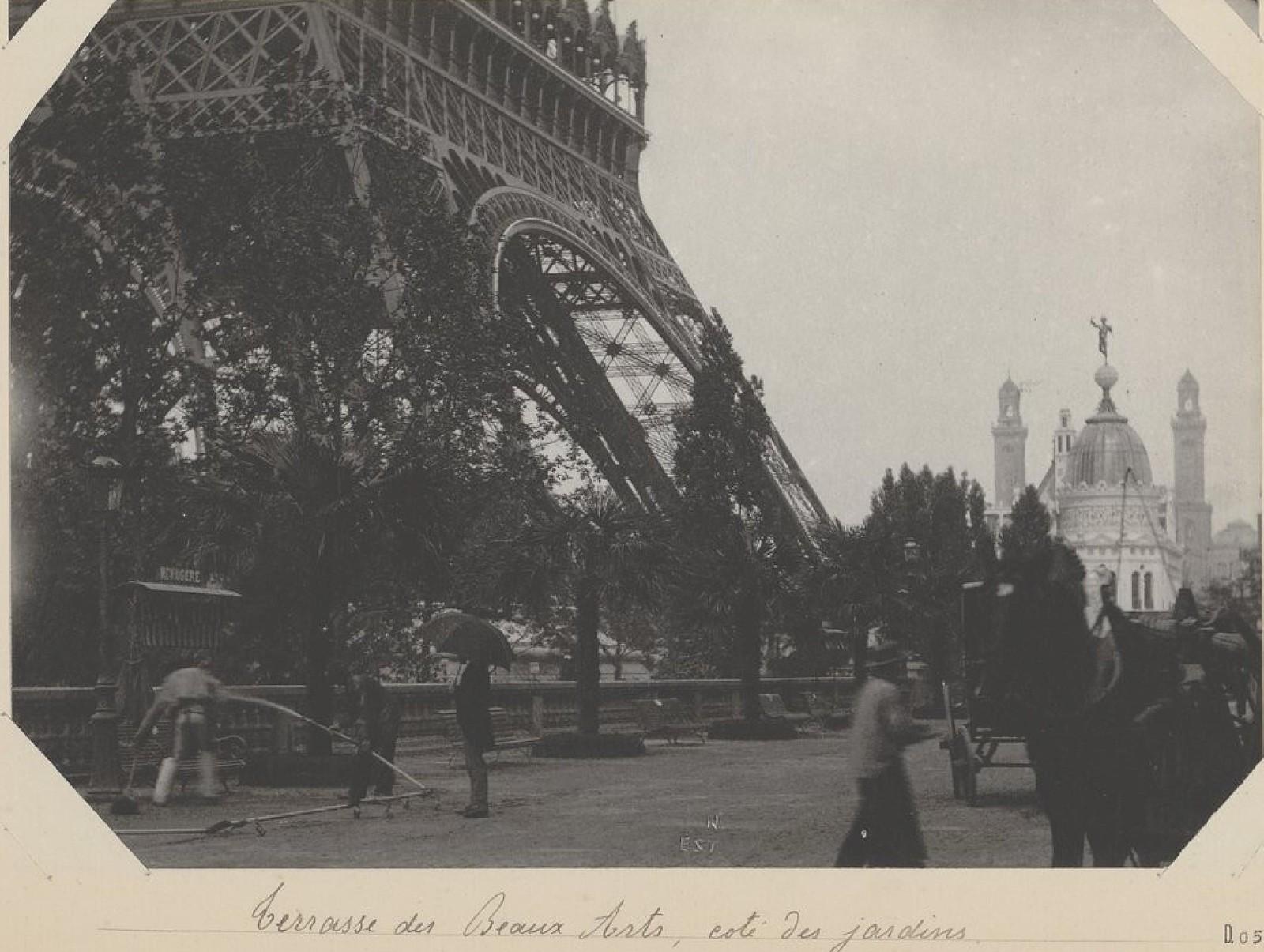 20. 1889. Терраса изящных искусств