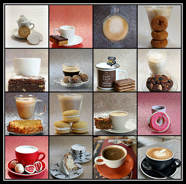 2020 Sydney collage: Coffee Cups #33