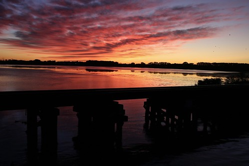 trains railroads bridges sunrise uppermudlake mcfarland madison wisconsin
