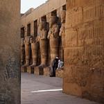Private Conversation - Luxor Temple, Egypt