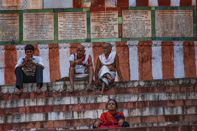 A Varanasi Scene, India