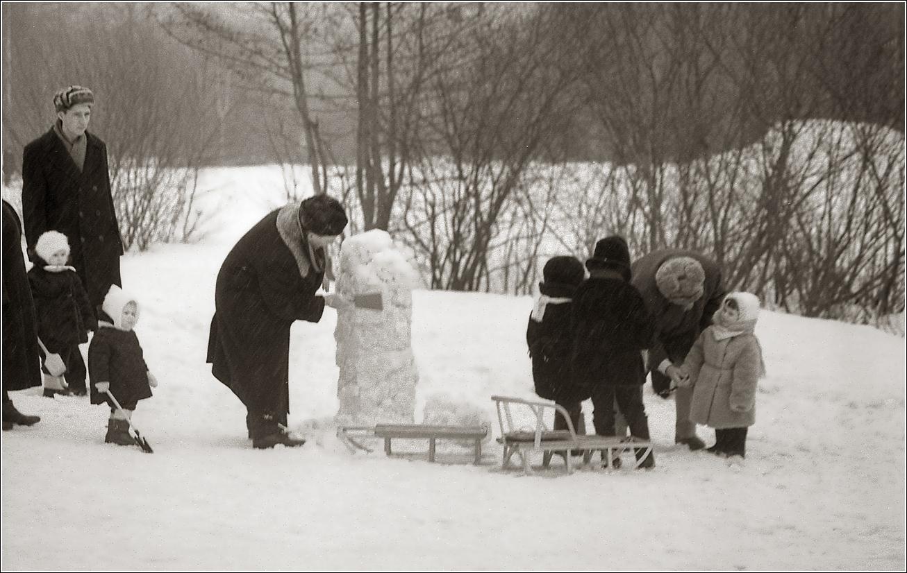 116. 1968. Измайловский парк, март