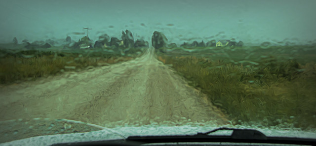 Finally a nice soaking rain.....