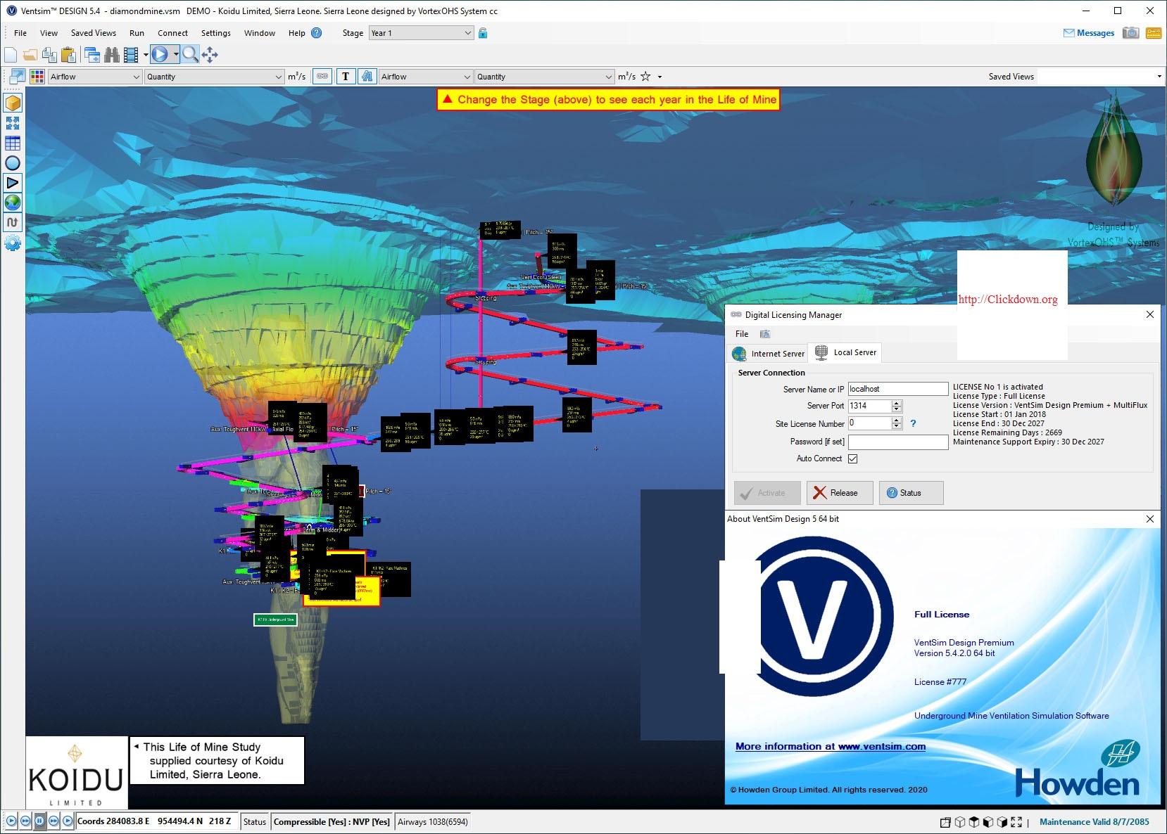 Working with Ventsim Design Premium v5.4.2.0 full