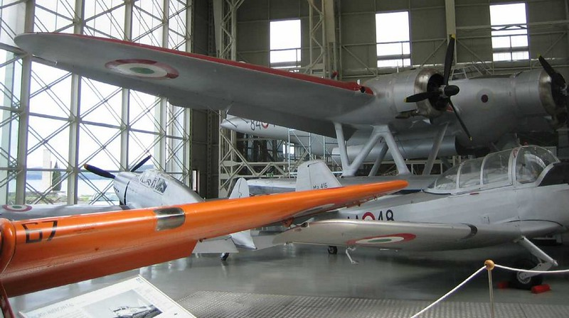 Cant Z-506 Airone Seaplane 2