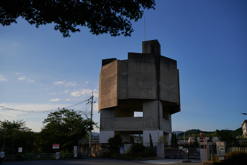 松ヶ崎浄水場の建築物