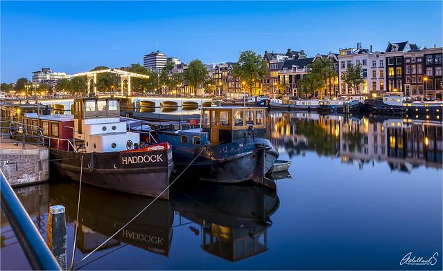 Amsterdam quiet evening blues