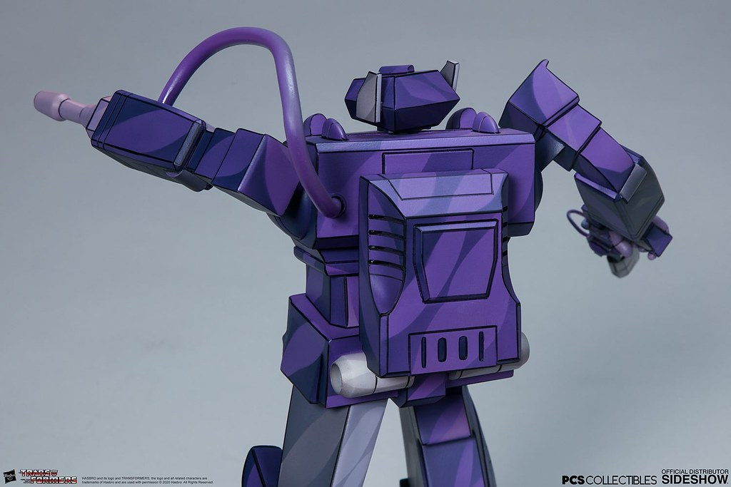 PCS × Sideshow《變形金剛:G1》震波(Shockwave)全身雕像
