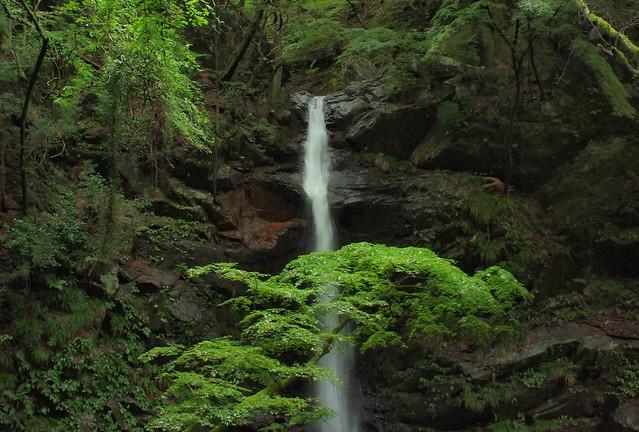 An étude: A waterfall (3)