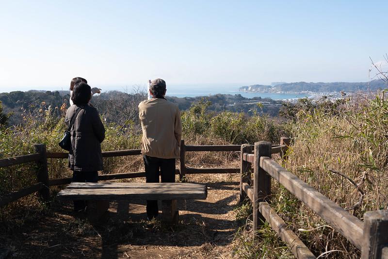 衣張山パノラマ台