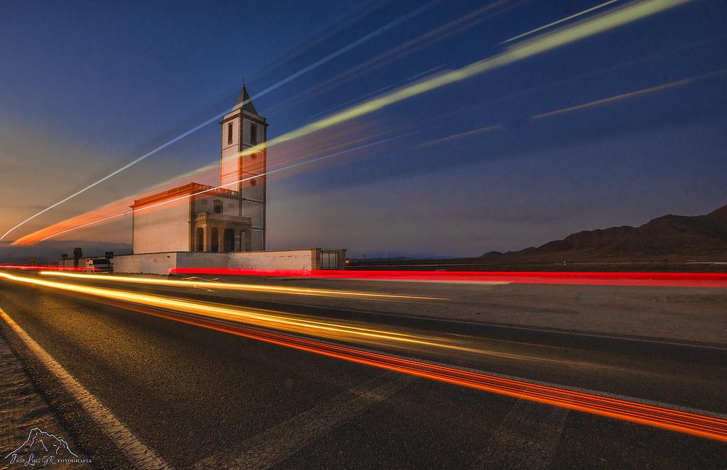 Iglesias de las Salinas, Almadraba de Monteleva, Cabo de Gata