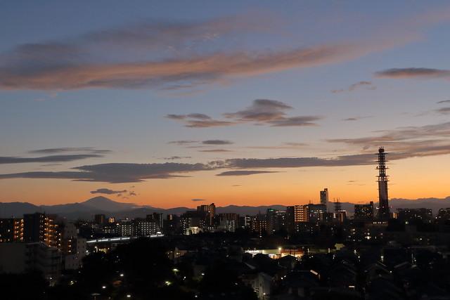 Kunitachi Sunset