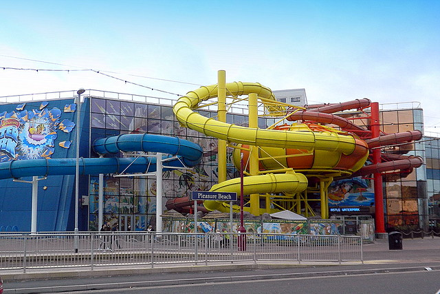 Snakes and Ladders?, Blackpool, Lancs.