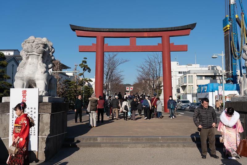 成人式の鎌倉
