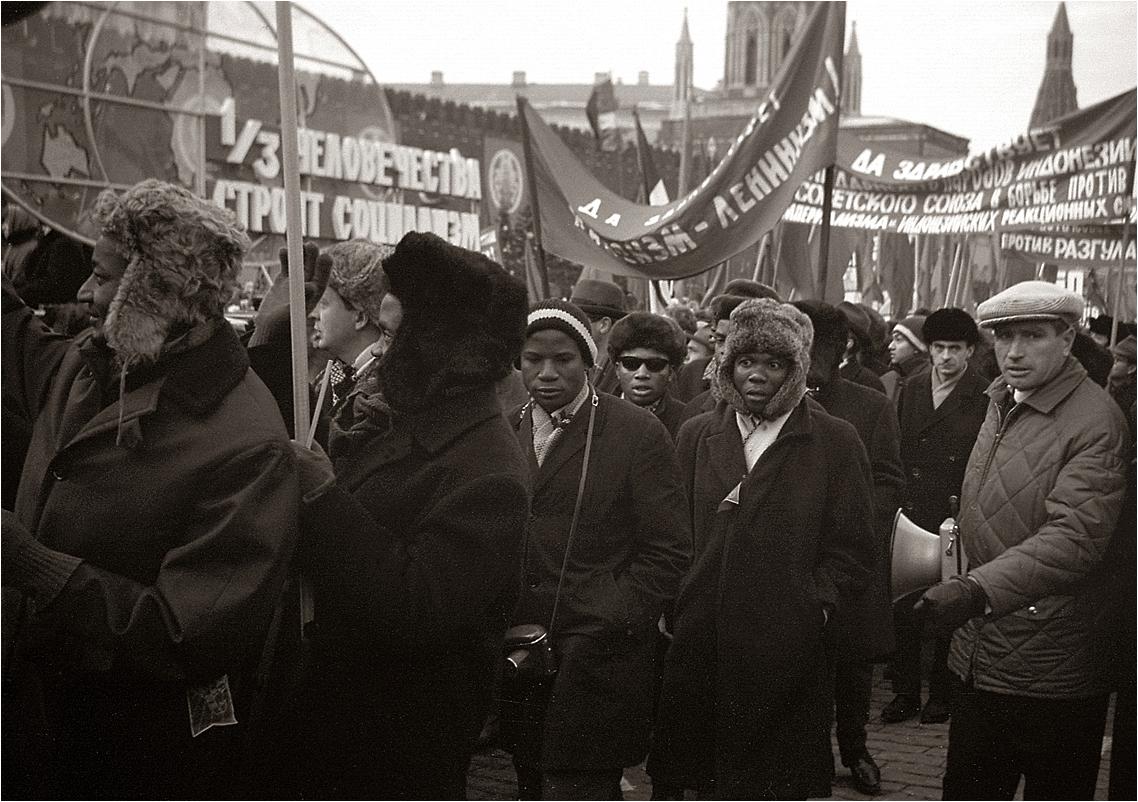 101. 1967. Красная площадь, 7 ноября