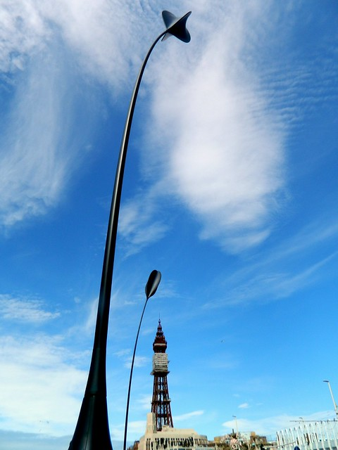 Giant Blades Of Grass, Blackpool, Lancs.