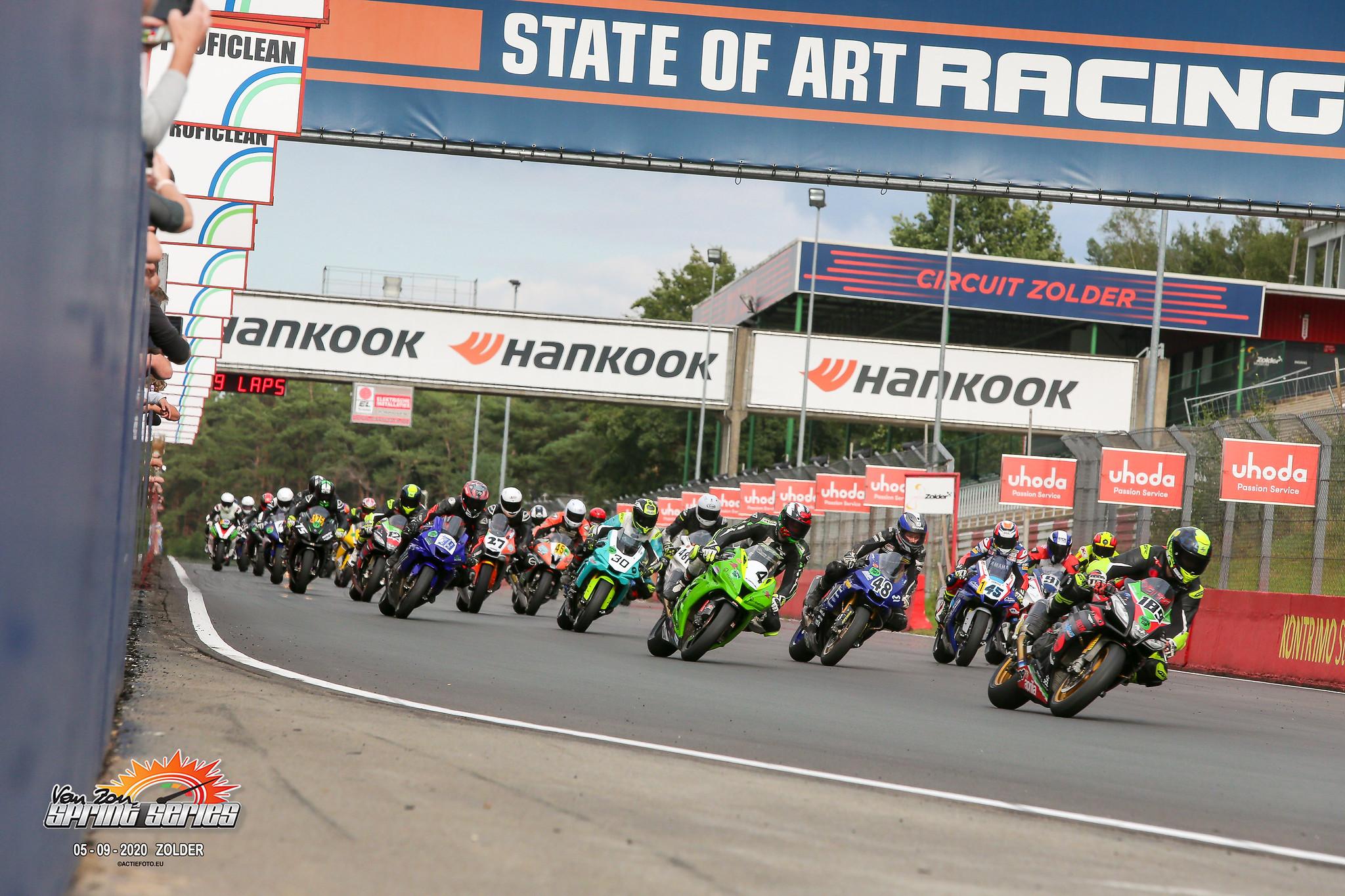 Van Zon Sprint Series Finale en BK/BeNeLux Race