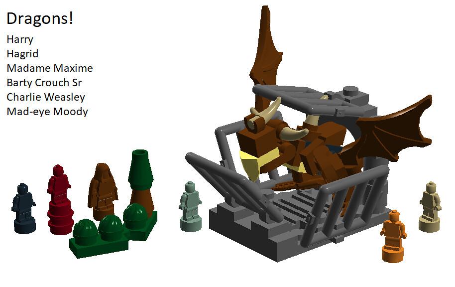 LEGO Harry Potter: Dragons! (set concept)