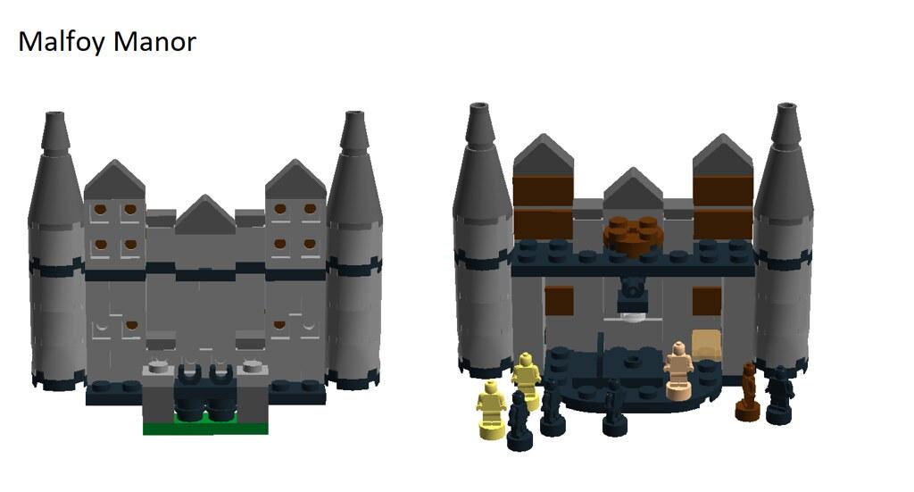LEGO Harry Potter: Malfoy Manor (set concept)