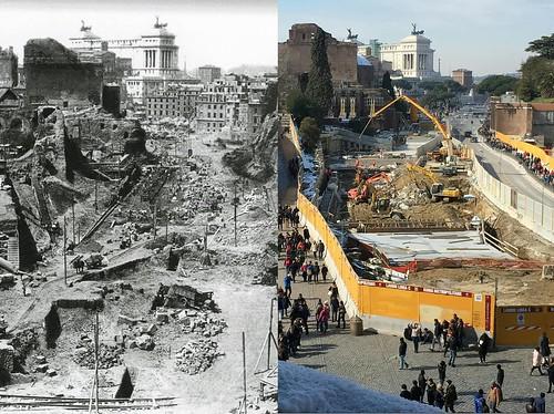 ROMA ARCHEOLOGICA & RESTAURO ARCHITETTURA 2020. Rome Metro C & Palazzo Rivaldi - Rome to restore forgotten palace near the Colosseum. Wanted in Rome (08/09/2020).