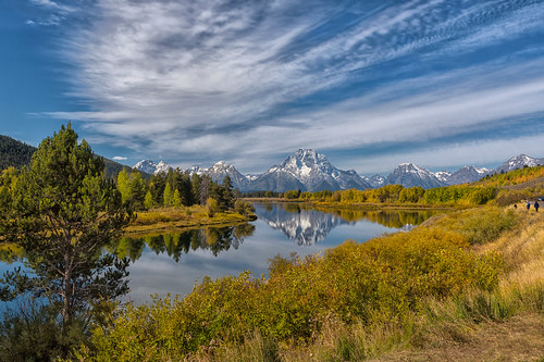 A Fine Autumn Morning at Oxbow Bend