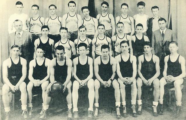 1935-36 Red Devils Scrapbook