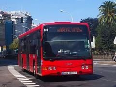 Burillo Luxor Man 380 de Tranvias de La Coruña
