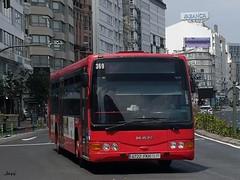 Burillo Luxor Man 369 Tranvias de La Coruña