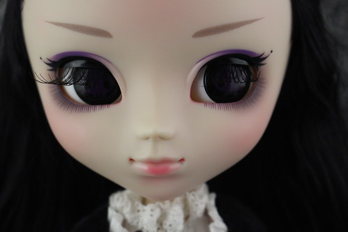 Kuromi Partially Closed Eyelids