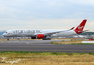G-VDOT Airbus A350-1000 Virgin Atlantic | by @Eurospot