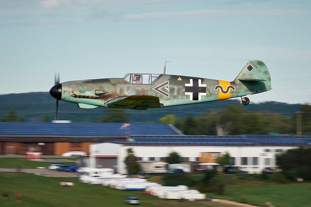 Messerschmitt Bf 109 - UL replika ( OK - KUD 02 )
